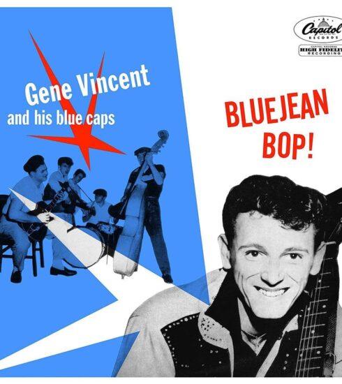 """""""Blue Jean Bop"""" Le premier disque en 1956 de """"Gene Vincent"""""""